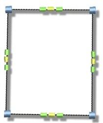 Block Frame embroidery design