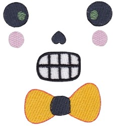 Skull Face embroidery design