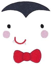 Vampire Face embroidery design