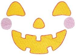 Jack-O-Lantern Face embroidery design