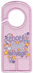 Tooth Fairy Hanger embroidery design