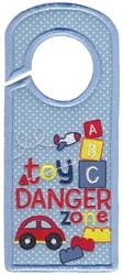 Danger Zone embroidery design