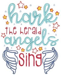 Angels Sing embroidery design