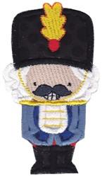 Applique Nutcracker embroidery design