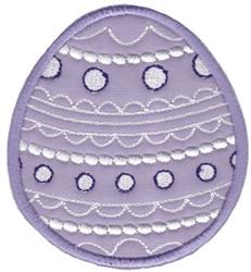 Easter Applique Too Egg embroidery design