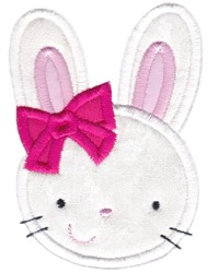 Easter Applique Too Bunny embroidery design