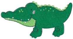 Australian Animal Crocodile embroidery design