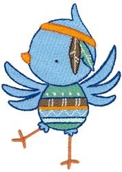Tribal Animal Bird embroidery design