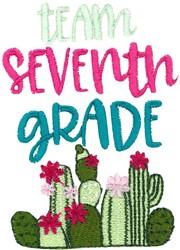 Team Seventh Grade embroidery design