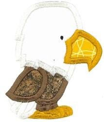 Boxy Eagle Applique embroidery design