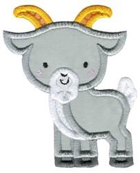 Applique Goat embroidery design