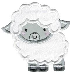 Applique Sheep embroidery design