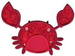 Boxy Crab Applique embroidery design