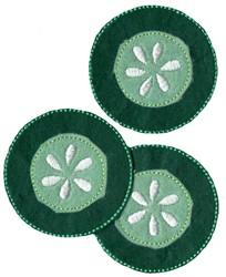 Cucumber Slice Felties embroidery design