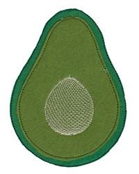 Avocado Feltie embroidery design