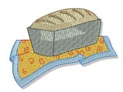 Swirly Cookbook Bread embroidery design
