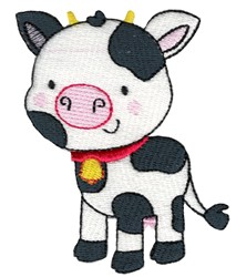 Pet Cow embroidery design