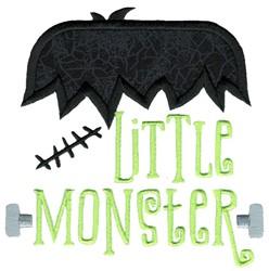 Little Monster Applique embroidery design