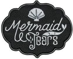 Mermaid Tears embroidery design