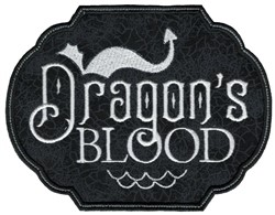 Dragons Blood embroidery design