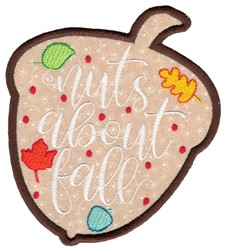 Im Nuts About You embroidery design