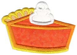 Pumpkin Pie Applique embroidery design