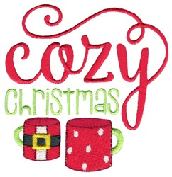 Cozy Christmas embroidery design