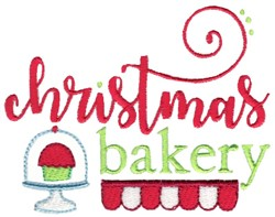 Christmas Bakery embroidery design
