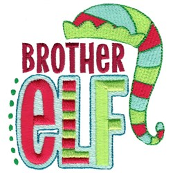 Brother Elf embroidery design