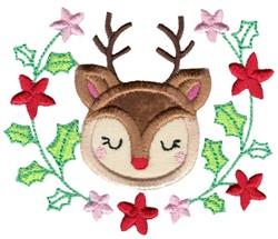 Applique Rudolph & Laurel embroidery design