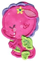 Darling Dragon Applique embroidery design