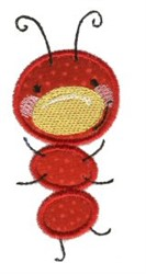 Doodle Bugs Applique embroidery design