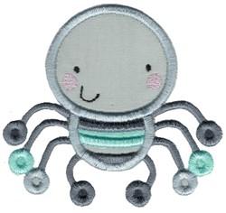 Applique Boy Spider embroidery design