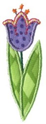 Doodle Bugs Flower Applique embroidery design