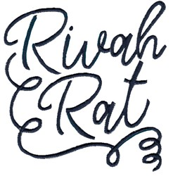 Rivah Rat embroidery design