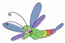 Bubbaboo In Spring embroidery design