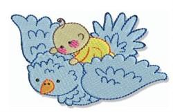 Bubbaboo In Spring & Bird embroidery design