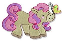 Pretty Pony embroidery design
