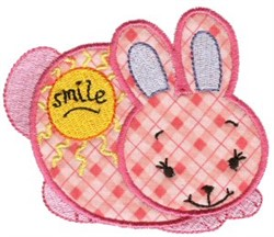 Sweet Inspirations Bunny Applique embroidery design