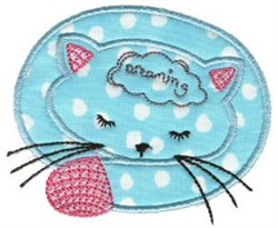 Sweet Inspirations Cat Applique embroidery design