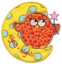 Sweet Inspirations Owl Applique embroidery design