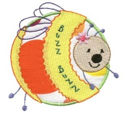 Sweet Inspirations Bee Applique embroidery design