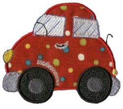 Applique Boys Toy Car embroidery design