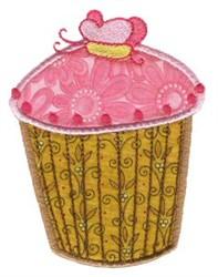 Cupcakes Applique Too embroidery design
