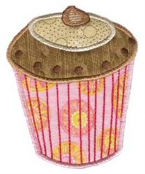 Cupcake Applique Too embroidery design