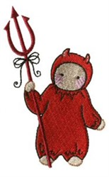Devil Costume embroidery design