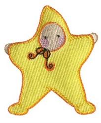 Star Costume embroidery design