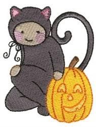 Cat Costume embroidery design