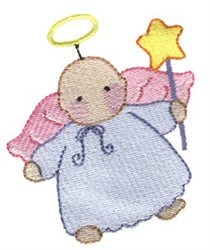 Angel Costume embroidery design