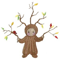 Tree Costume embroidery design